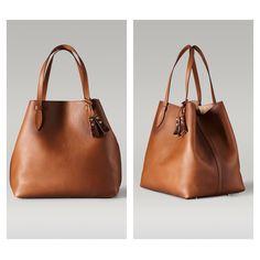Handbags For Men, Purses And Handbags, Leather Handbags, Leather Bag, Massimo Dutti Bags, Brand Name Bags, Tan Bag, Fabric Bags, Clutch Bag