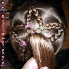 Did this on my 18 month olds hair and it worked beautifully! and her hair is VERY curly and not that long.