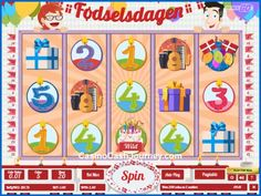 Having released fun games like Hugo, Cloud Quest and Pimped, Play'n GO also has a few geo-optimised slots like Fodselsdagen. More this way...   http://www.casinocashjourney.com/slots/playn-go/fodselsdagen.htm