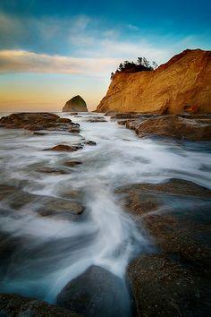 """A Good Morning"" by Nathaniel Reinhart   @ Cape Kiwanda, Oregon"