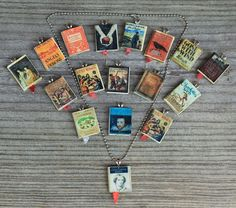 Miniature Book Charm - I want Jane Eyre, Pride and Prejudice, and Little Women!