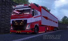 Euro Truck Simulator 2 Volvo FH 2012 JB Trans