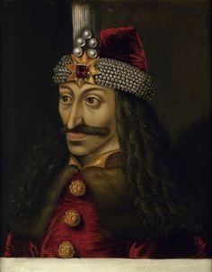 Vlad Tepes, detto Dracula – olio su tela, 60×50 cm – Kunsthistorisches Museum, Vienna – in deposito presso il Castello di Ambras, Innsbruck