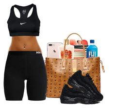 """Untitled #715"" by zayani ❤ liked on Polyvore featuring MCM and NIKE"