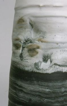 Ceramics by Kyra Cane . . . love how the oxides blend and swirl in the glaze . . .