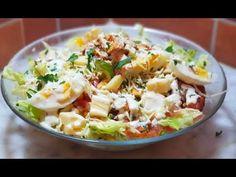 سلطة سيزار بصلصة السيزر الرهيبة مع سخانة رمضان هذا واش يليق - YouTube Samira Tv, Potato Salad, Potatoes, Cooking, Ethnic Recipes, Food, Salads, Recipes, Kitchen