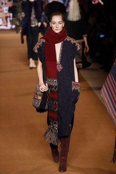 Etro / Fall 2014 / RTW / High Fashion / Ethnic & Oriental / Carpet & Kilim & Tiles & Prints & Embroidery Inspiration /