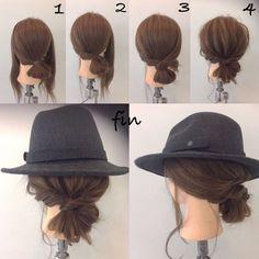これでもう迷わない!帽子と相性のいいヘアアレンジ10選 - Yahoo! BEAUTY