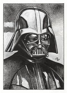 Star Wars - Darth Vader by Adi Granov *