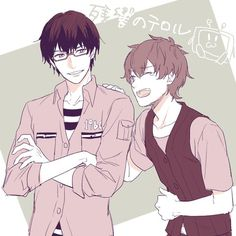 Nine and Twelve - Zankyou no Terror Manga Anime, All Anime, Anime Guys, Anime Art, Anime Stuff, Bizarre Videos, Stray Dogs Anime, Manga Characters, Manga Comics