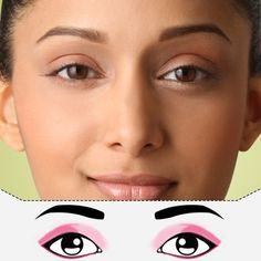 Makeup for Prominent eyes