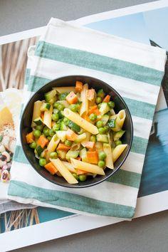 Breakfast at Tiffany's: Pasta con piselli, carote e zucchine
