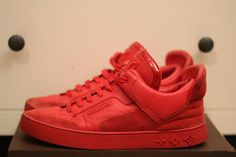 Louis Vuitton x Kanye West Dons Red $1500