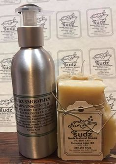 Wonderful, luxury soap and lotion that is UNSCENTED, people with sensitive skin and allergy sufferers can now have high end bath and beauty products. Handcrafted in Duckworth Lake, British Columbia by Sudz Natural Soaps.