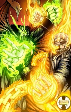 Spawn vs ghost rider             :)