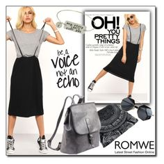 """""""Romwe 2 / V"""" by emina136 ❤ liked on Polyvore featuring romwe"""