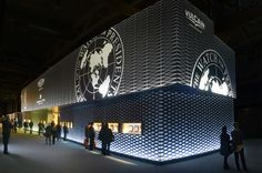 Back in Baselworld after 33 years: Vulcain showcased a 500m2 split-level stand in the prestigious Hall 1.1