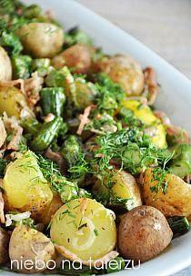 przystawki na impreze/grilla na Stylowi.pl Polish Recipes, Coleslaw, Food Design, Potato Salad, Cake Recipes, Side Dishes, Food And Drink, Recipies, Vegan