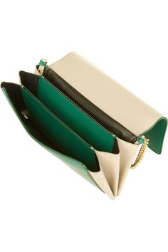 Jil Sander | Nepote leather shoulder bag | NET-A-PORTER.COM