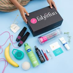 FabFitFun Summer Box: Purlisse Protect Moisturizer and a fruit infuser water bottle Makeup Tips, Beauty Makeup, Hair Beauty, Diy Makeup, Beauty Secrets, Beauty Hacks, Zoe S, Look Here, I Work Out
