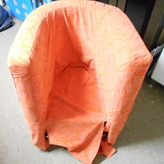 Slipcover For Tub Chair   Not The Easiest Instructions For A Beginner Like  Me But Some
