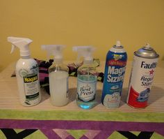 Homemade spray starch. I love Best Press, but this is a cheap ... : best spray starch for quilting - Adamdwight.com