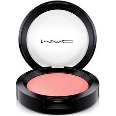 Mac Flamingo Park Powder Blush ($22) ❤ liked on Polyvore featuring beauty products, makeup, cheek makeup, blush, beauty, what i fancy, powder blush and mac cosmetics