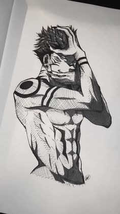 Anime Boy Sketch, Art Drawings Sketches Simple, Cute Drawings, Naruto Sketch Drawing, Manga Art, Manga Anime, Anime Art, Anime Villians, Anime Characters