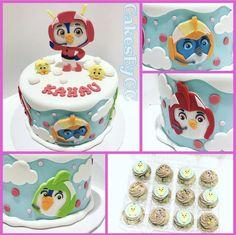 2nd Birthday Parties, Birthday Cake, Cake Toppings, Party Cakes, Fondant, Cake Decorating, Birthdays, Laurence, Baking