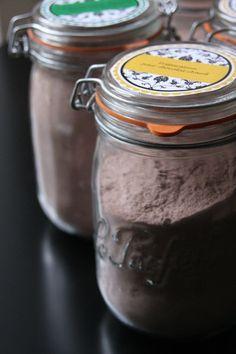 """Préparation pour chocolat chaud (à l'eau) par """"Beau à la louche"""""""