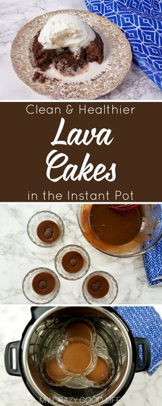 I get it–Instant Pot lava cake has been done before. There's no need to recreate it unless I have something to add to it–I do! I've cleaned the recipe up and this is as close to a Healthy Lava Cake as you can get. 21 Day Fix friendly