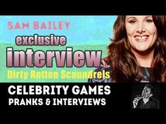 In this funny moment, Sam Bailey gives an interview, at the opening night of Dirty Rotten Scoundrels. Sam Bailey, Opening Night, Durham, Pranks, Funny Moments, Interview, Singer, In This Moment, Celebrities