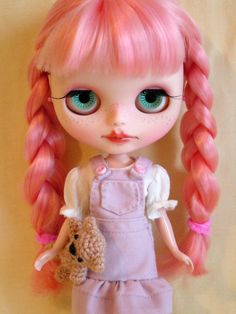 Custom blythe doll art doll by GarlenaShop on Etsy