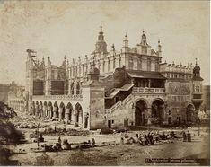 Krakow, Wool warehouses (north side). 1876
