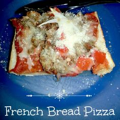 Recipe: French Bread Pizza