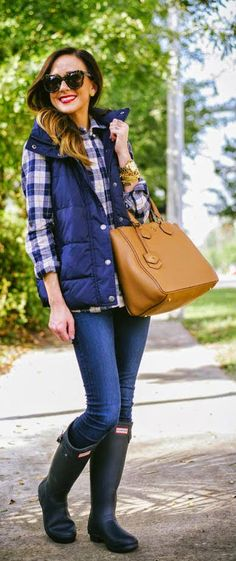Daily New Fashion : Shades Of Blue Casual Outfit - Sequins & Things