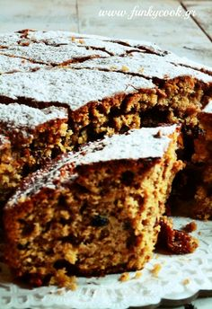 Greek Fanouropita, The traditional, spiced cake baked as an offering to Saint Fanourios.