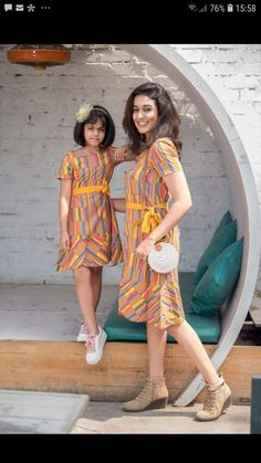 PG new festive Special Launch Whatsapp: 7904972431 New Mom and Me designs Fabric Cotton Only free ship Only Mom daughter 46 size 100 extra Only mom 2 daughters 2300 Mother Daughter Outfits, First Daughter, Mom Dress, Dress First, New Launch, New Print, Daily Wear, Casual Looks, Fabric Design