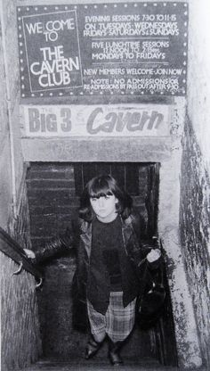 1960s, a fan exiting The Cavern Club