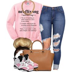 . by trillest-queen on Polyvore featuring polyvore, fashion, style and MICHAEL Michael Kors