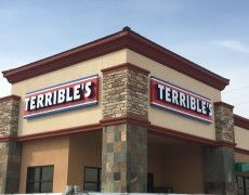 Custom Signs in Las Vegas Archives - Patrick's Signs, Inc. Channel Letter Signs, Signage, Tropical, Lettering, Cabinet, Clothes Stand, Closet, Billboard, Drawing Letters