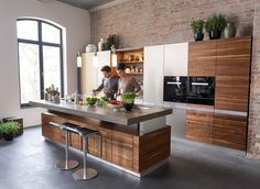 K7   The Height Adjustable Kitchen Island From TEAM 7 | Kitchen | Pinterest  | Kitchens, Interiors And House
