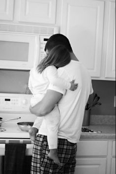 This is too cute - Father and daughter Sunday morning breakfast :3