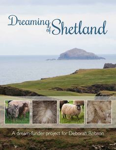 Cover of the amazing Dreaming of Shetland book, which I'm thrilled to have contributed to.