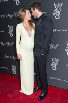 Blake Lively and Ryan Reynolds attended the 2014 Angel Ball, hosted by Gabrielle's Angel Foundation, at Cipriani Wall Street on Monday, Oct. 20, 2014, in New York. (Photo by Scott Roth/Invision/AP)