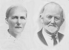My great grandparents Jette Alette Jakobsdotter and Oluf Tønnes Andreasson. Parents of Tønnes Lindal Hølland.
