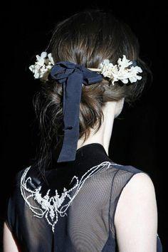 Capell de Jordina Bravo per a Natalie Capell - Fitting Barcelona Bridal Week 2015