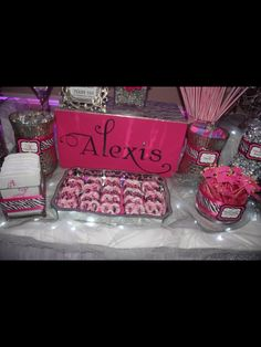 Candy Buffet Sweet Sixteen