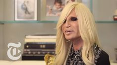Donatella Versace, who became chief designer after the murder of her brother Gianni, chats with Vanessa Friedman about how her Milan office reflects her pain...