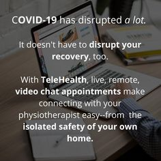 Due to governmental health advisories in relation to both our clinics are closed until further notice. Some of our experienced are offering TeleHealth sessions. See our website for more details! Don't let COVID disrupt your Own Home, Appointments, Clinic, Recovery, Let It Be, Website, Health, How To Make, Instagram